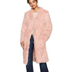 Teddy Coat color Blush